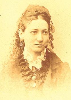 A sad looking Gertrude Tredwell.