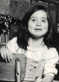 Little Lisa Steinberg, who died in the haunted house of Death at just six years of age.