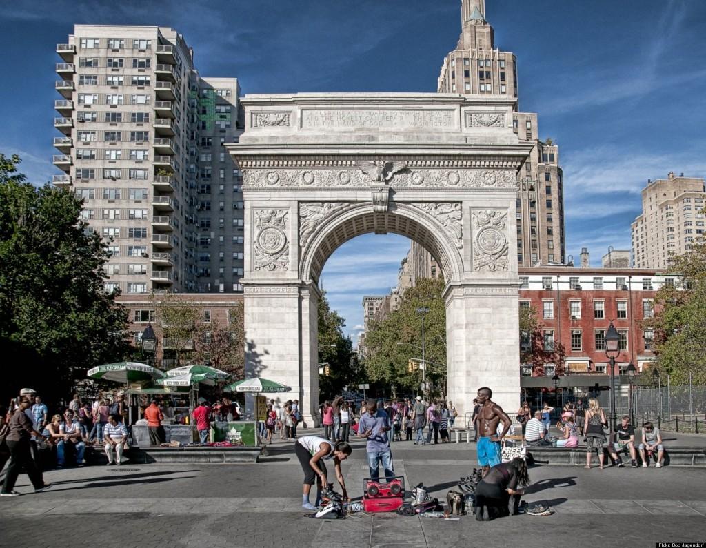 The Washington Centenary Arch.