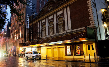 The Belasco Theater is located at 111 West 44th Street.