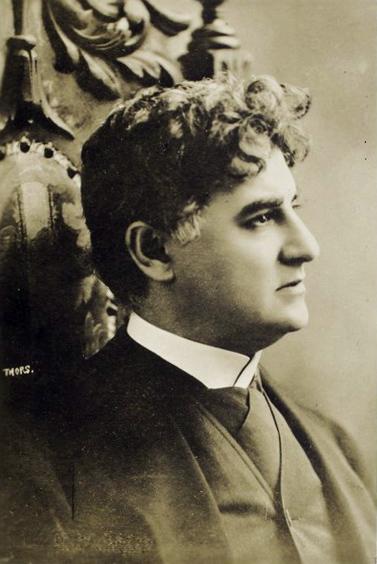 David Belasco, aka The Bishop of Broadway.