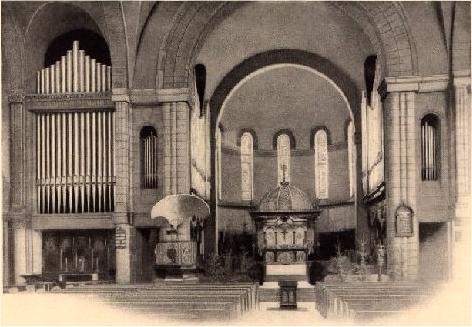 The church's old organ.