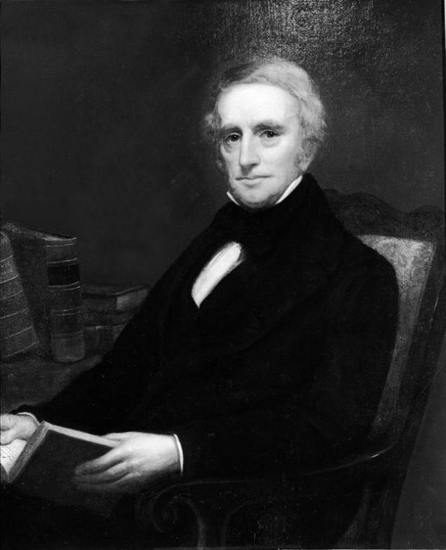 Portrait of Clement Clarke Moore.