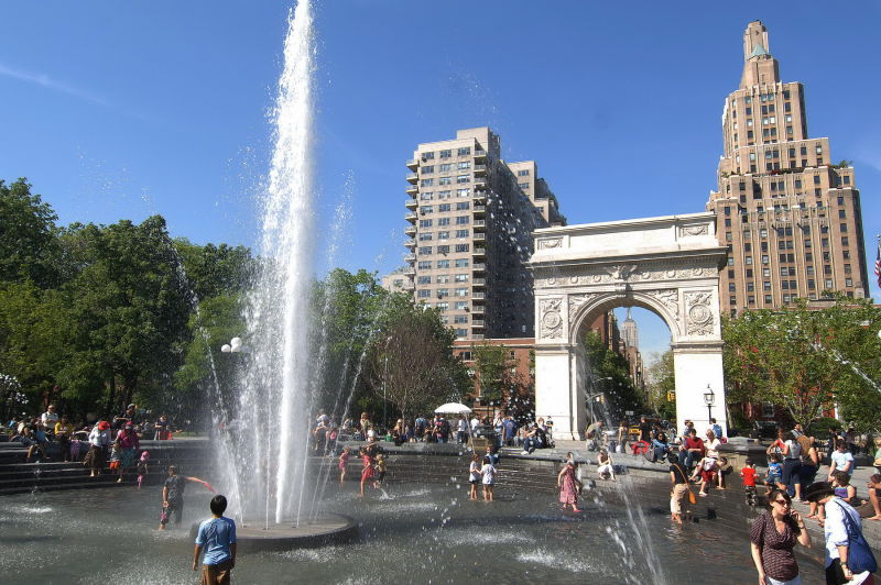 Washington Square National Park - plenty to do in a beautiful setting!