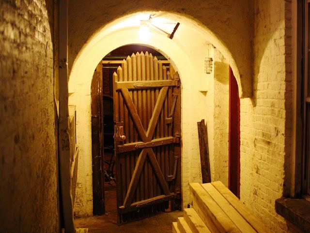The secret entrance of the speakeasy.