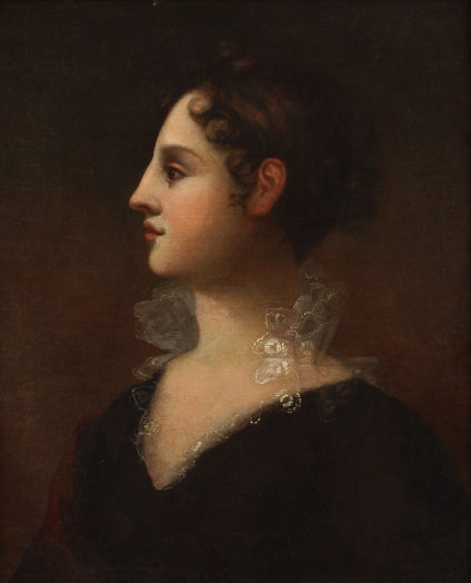Theodosia Burr Alston, beloved daughter of Aaron Burr.