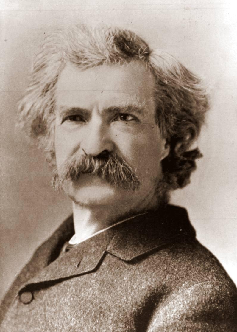Mark Twain, aka Samuel L. Clemens.