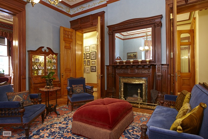 Inside one of The Dakota's beautiful apartments.