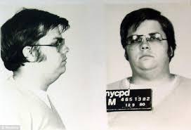 Chapman, Lennon's killer.