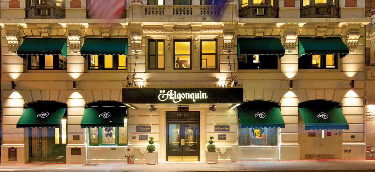 Welcome to The Algonquin Hotel!