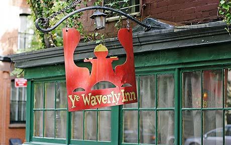 The Waverly Inn, formerly known as Ye Waverly Inn & Garden.