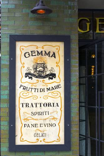 Gemma Trattoria, the hotel's restaurant.