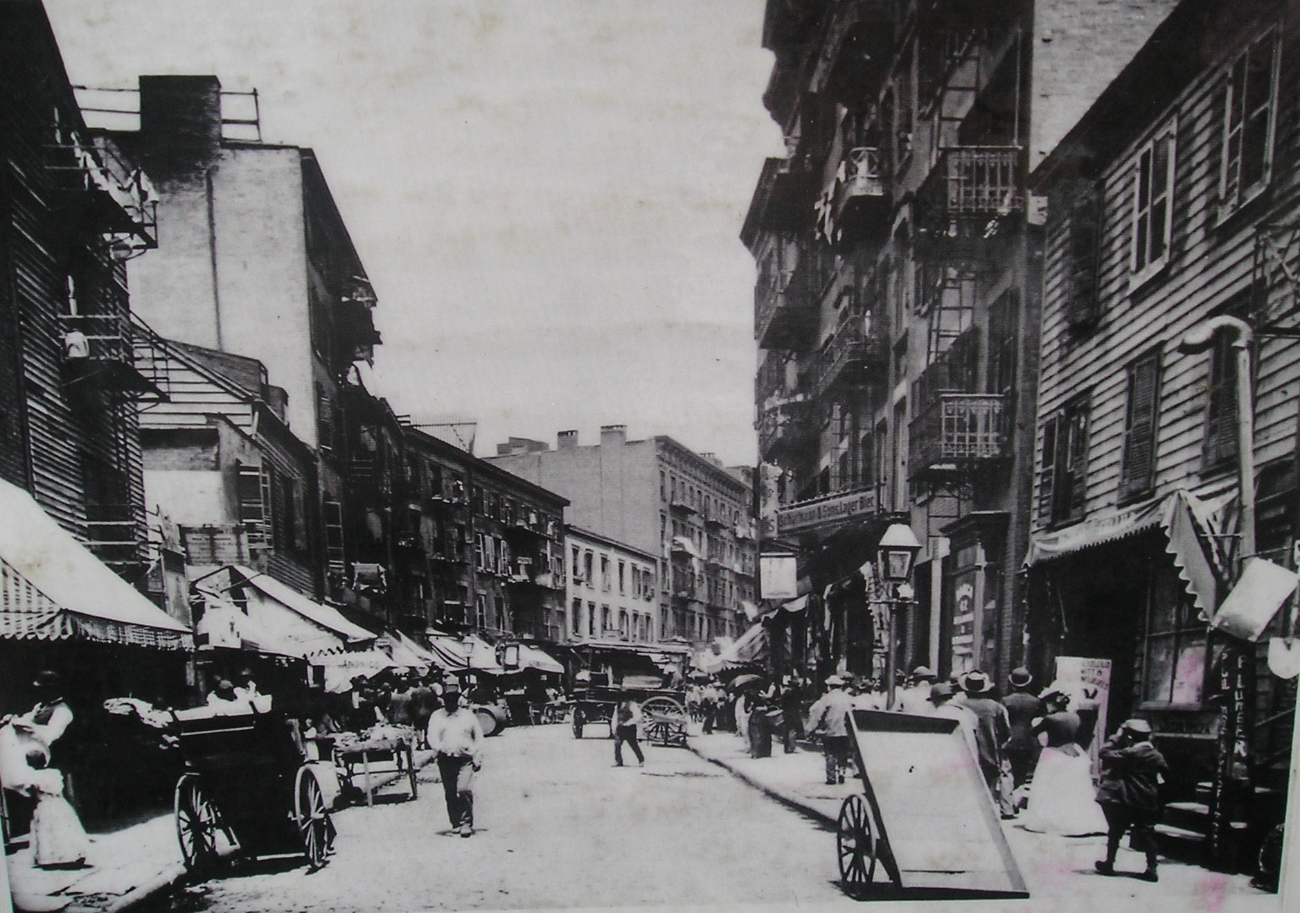 The Lower East Side, in the early 1900s.
